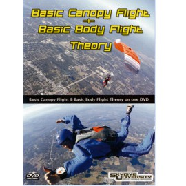 Basic Canopy Flight and Basic Body Flight DVD