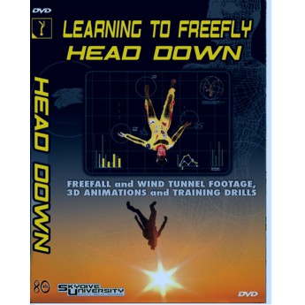 Learning to Freefly Head Down DVD