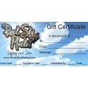 Rock Gift Certificate