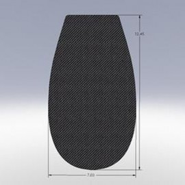 Flat Top Extended Plate