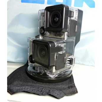 Pivot Pad Double GoPro Housing