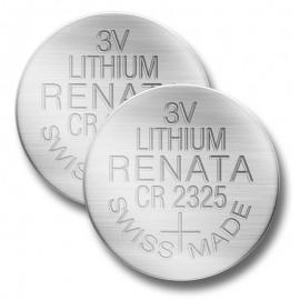 CR2325 Batteries- Viso/Ares/Solo/Optima/Quattro/Pro-Track II