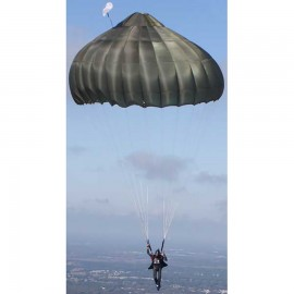 Strong 30 Foot Conical Emergency Parachute