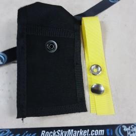Pocket with Snap Lanyard