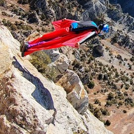 Squirrel Corvid Wingsuit